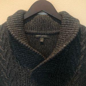 Men's Banana Republic Shawl Collar Sweater